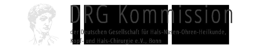 DRG Kommission der DGHNOKHC